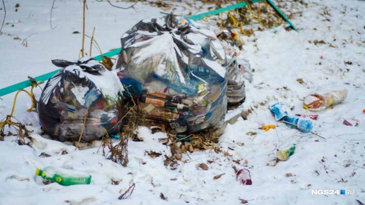 Утвержден официальный тариф на вывоз мусора в Красноярске