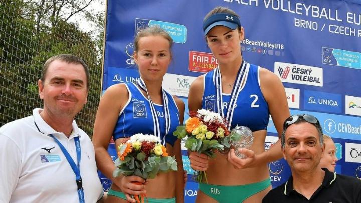«Сказались тяжелые игры»: архангельская волейболистка взяла серебро юниорского чемпионата Европы