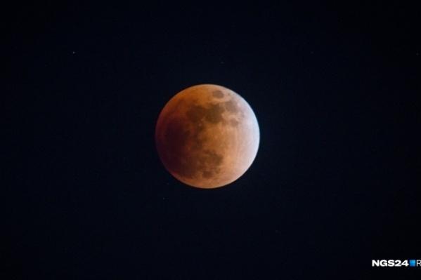 Наблюдать за затмением можно с 3 до 4 часов ночи