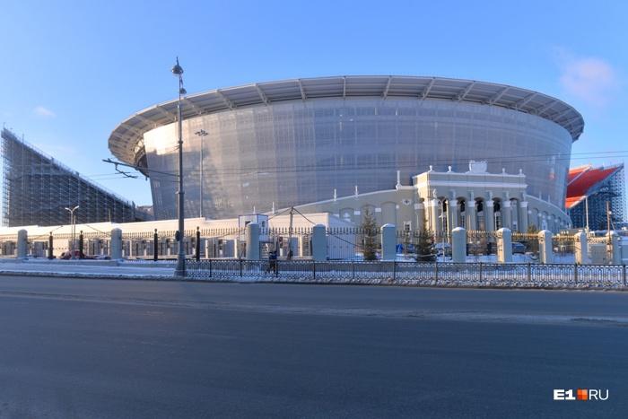 Центральный стадион продолжает оснащаться к ЧМ-2018