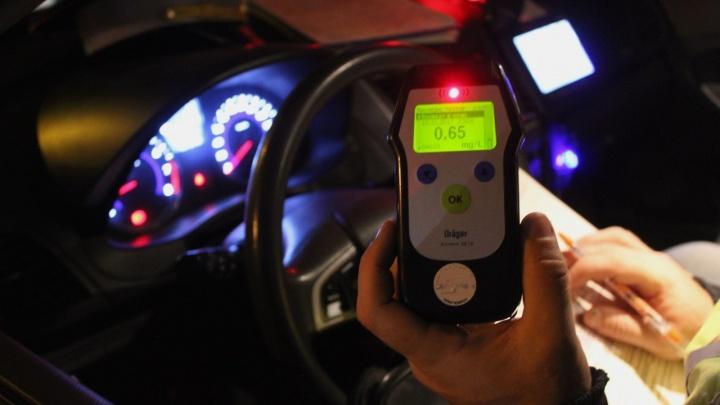 Инспекторы ГИБДД устраивают тотальную облаву на пьяных водителей