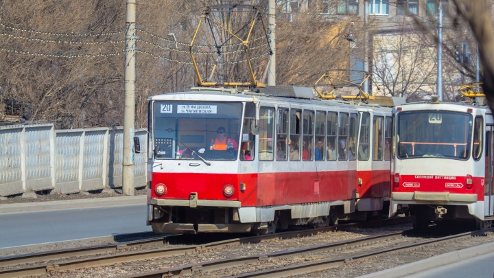 На улице Мичурина установят арт-трамвай