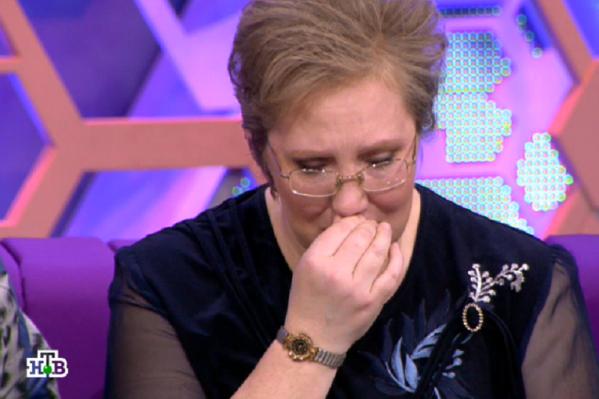 Татьяна несколько раз разрыдалась во время эфира