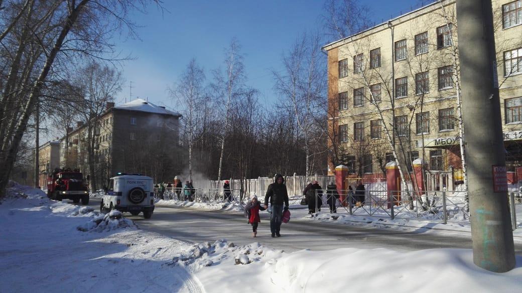 В Новосибирске начали снова эвакуировать школы