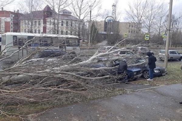 По словам очевидцев, в происшествии никто не пострадал