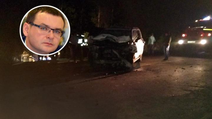 В ДТП с участием спикера гордумы Дмитрия Еремеева погибли водитель и пассажир такси
