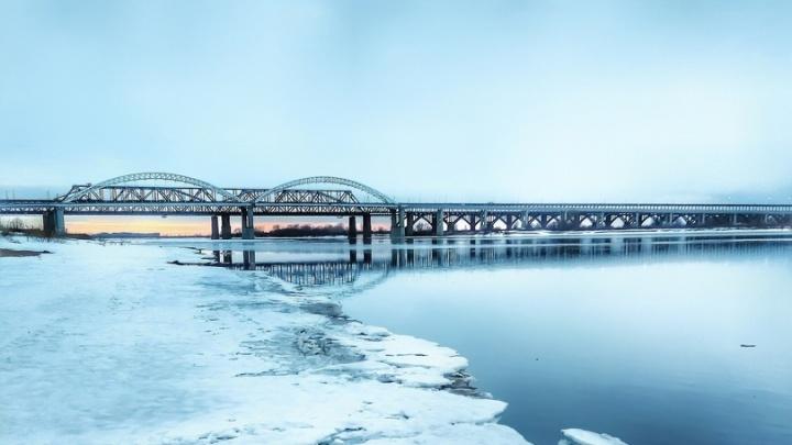 Фото дня. Волга пробудилась от затяжного зимнего сна