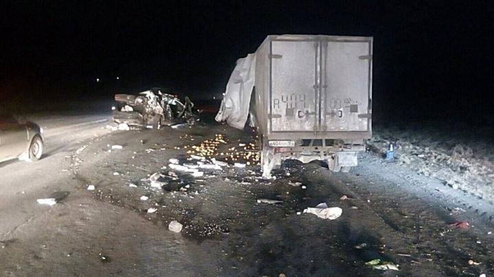 Массовое ДТП на трассе Уфа — Белорецк попало на видео