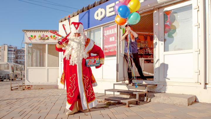 Что натворил Дед Мороз в Самаре: один день из жизни волшебника