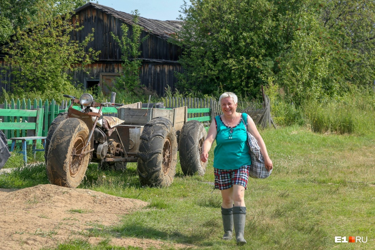Марина Алифер — мастер леса, депутат и почтальон