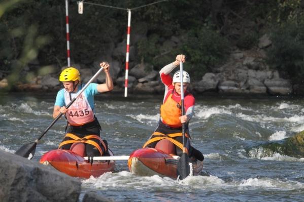 На катамаране-двойке первое место заняли Дмитрий Ештокин и Ренат Шафиков