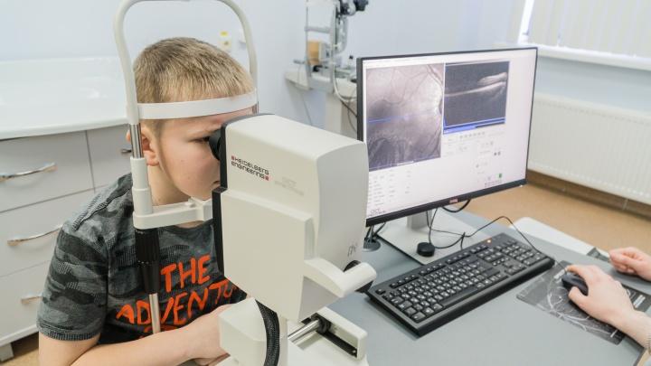 В детской краевой больнице установили суперсовременный прибор для диагностики заболеваний глаз