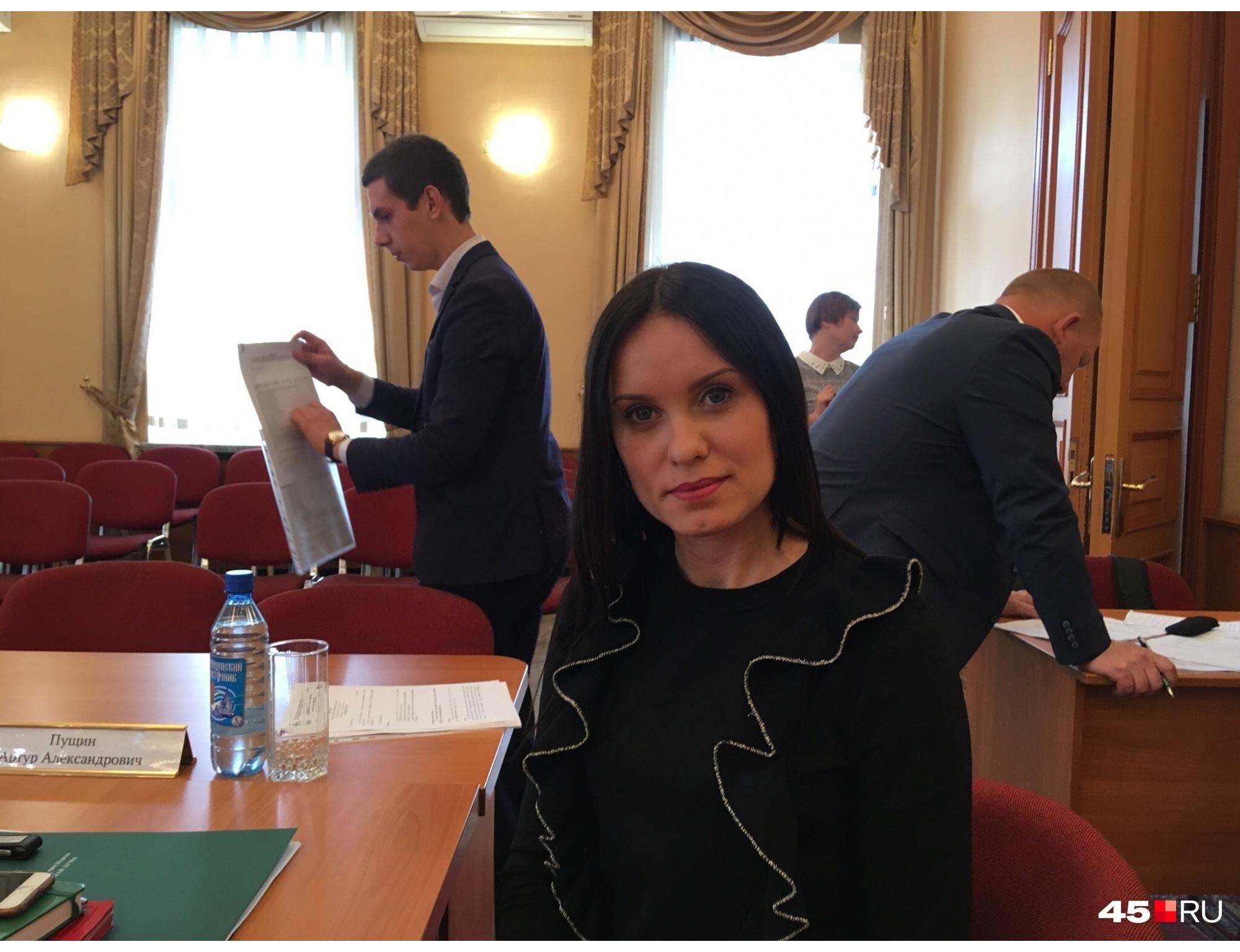 Анастасия Романович представляет девятый избирательный округ