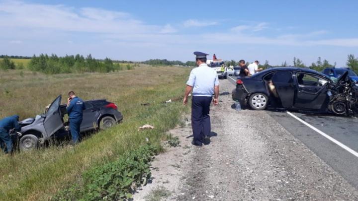 Лоб в лоб: в Оренбургской области в аварии погибли четверо жителей Башкирии
