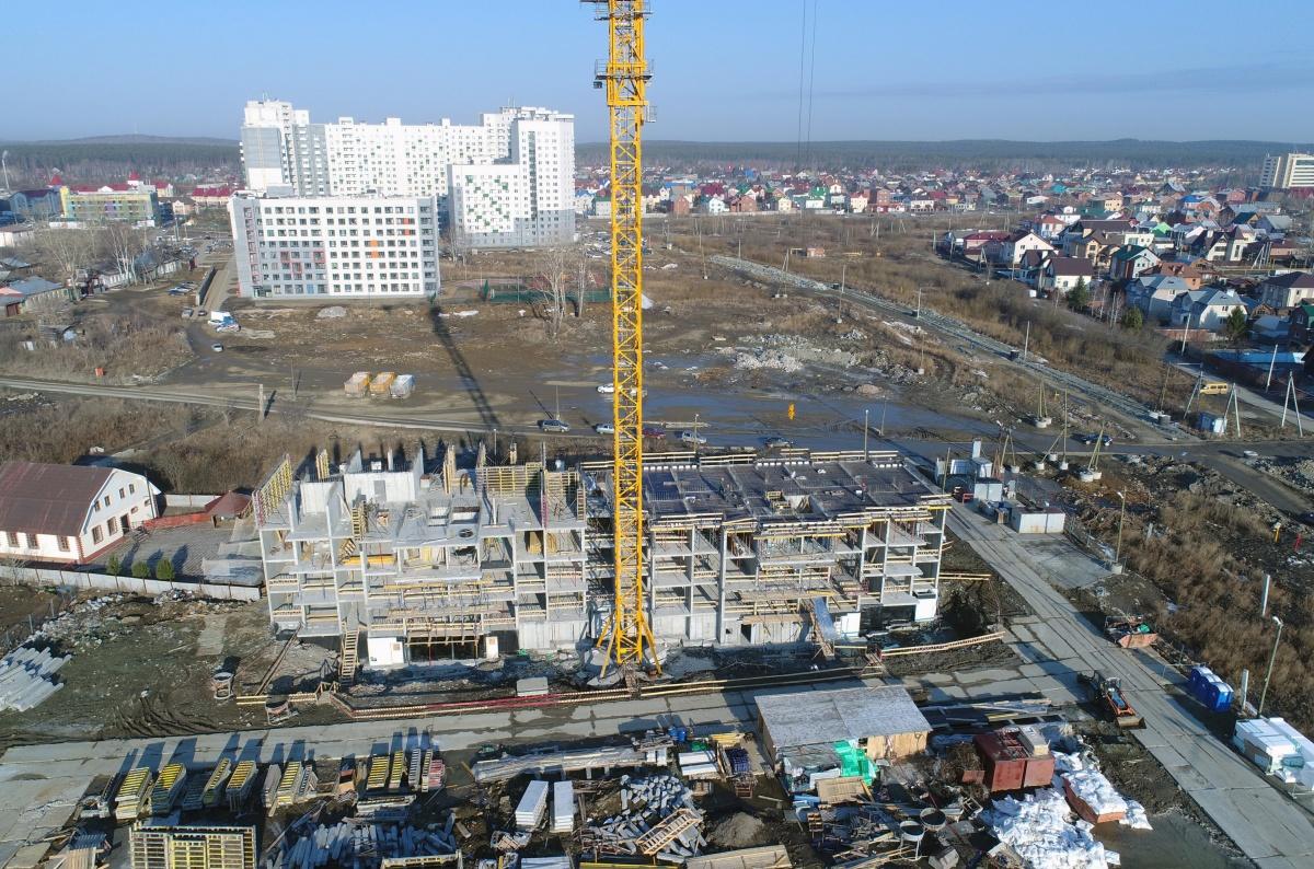 Строительство первой очереди ЖК закончится в IV квартале 2020 года
