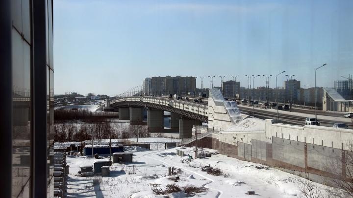Мэрия объявила аукцион на строительство дороги за825 миллионов у метромоста