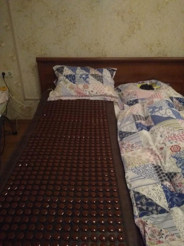 С таким матрасом приходится спать жителям Бетонной, 33А