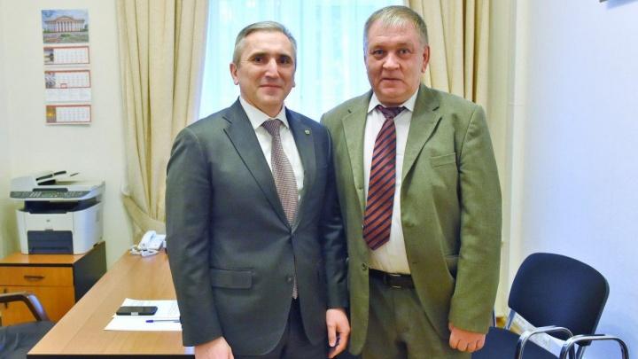 Тюменский губернатор предложил участнику акции протеста создать организацию инвалидов