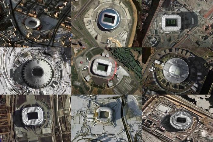 У Центрального стадиона самая необычная форма