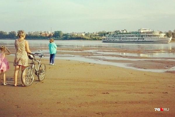 Пять лет назад Волга в Ярославской области пересохла до середины
