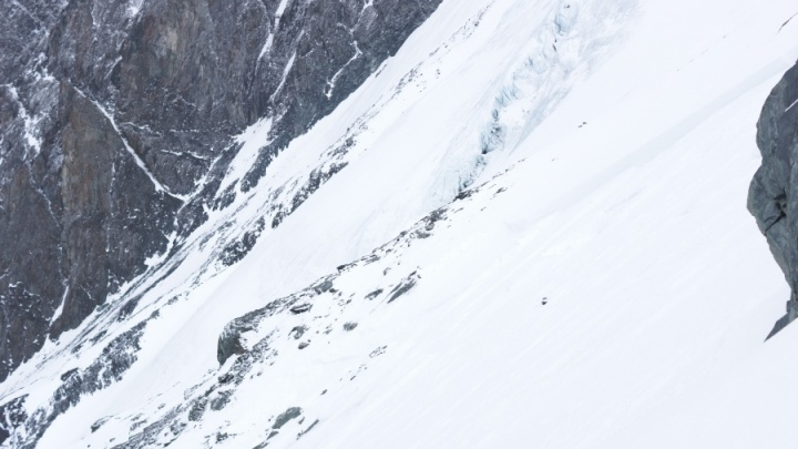 Снегопад с ветром осложнил поиски погибших под лавиной туристов на Алтае