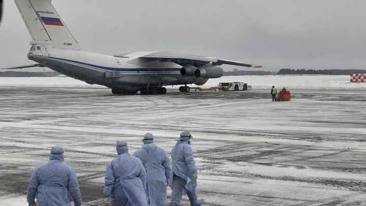 Как в Чернобыле: фоторепортаж из Тюмени, куда свозят россиян из зараженного Ухани