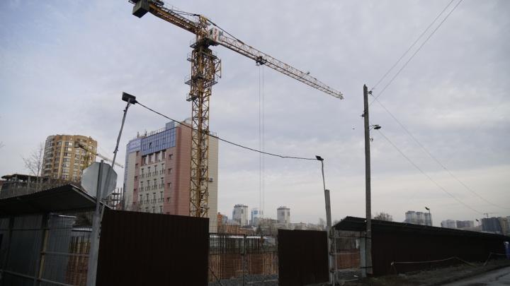 В центре Новосибирска построят высотку: дом будет в два раза выше, чем планировали сначала