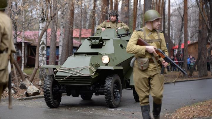 Военная реконструкция: смотрим, как выходили из окружения бойцы Великой Отечественной