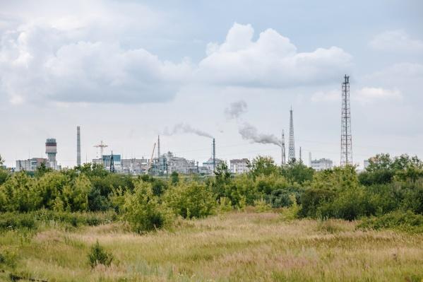 Горожане связали загрязнение воздуха с промышленными выбросами
