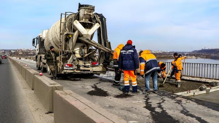До конца— 4,5 месяца. Смотрим на ход ремонта Мызинского моста