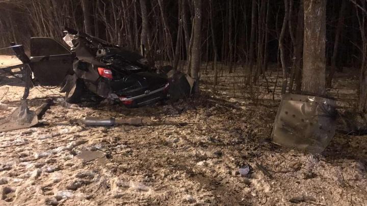 В машине было двое полицейских? Расследованием ДТП с «Тойотой-Камри» на Волжском шоссе занялся СК
