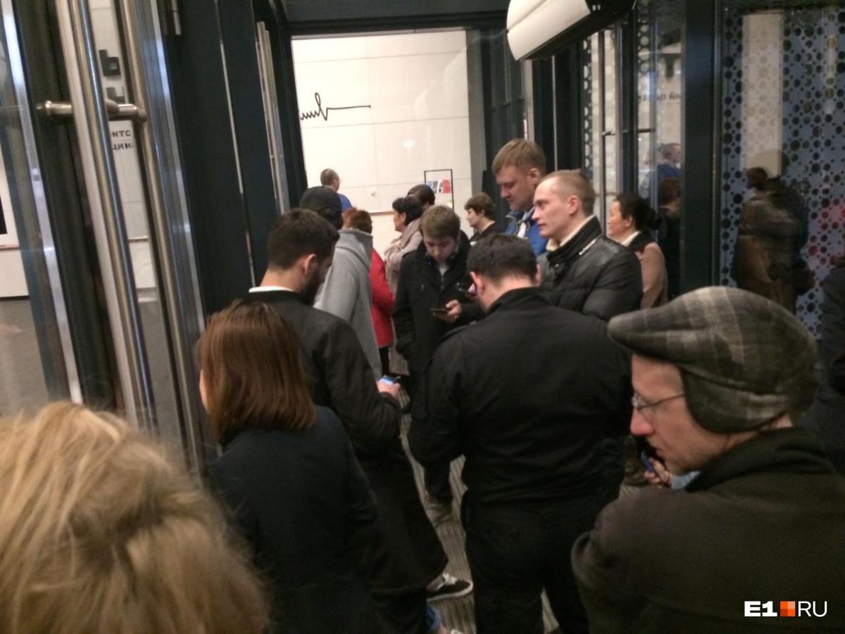 В Ельцин-центр пустили людей, эвакуированных из-за сообщения о бомбе