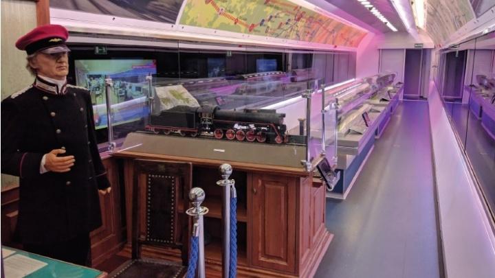 В Самару приедет поезд-музей «Российских железных дорог»