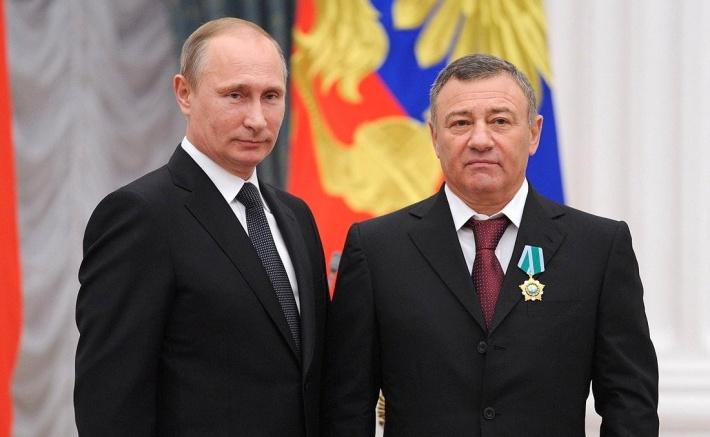 Глава государства наградил Ротенберга орденом Дружбы