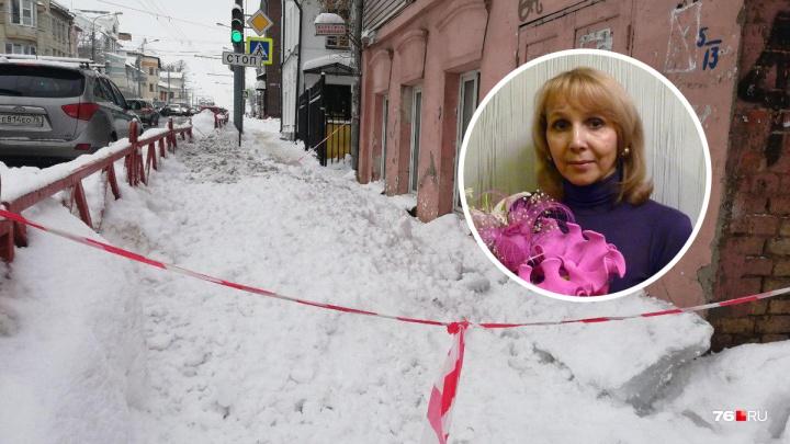 «На её месте мог быть любой из нас»: ярославцы бросились помогать женщине, покалеченной глыбой льда