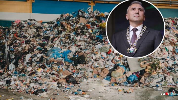 Александр Моор назвал размер ожидаемой выручки от продажи вторсырья из мусора тюменцев