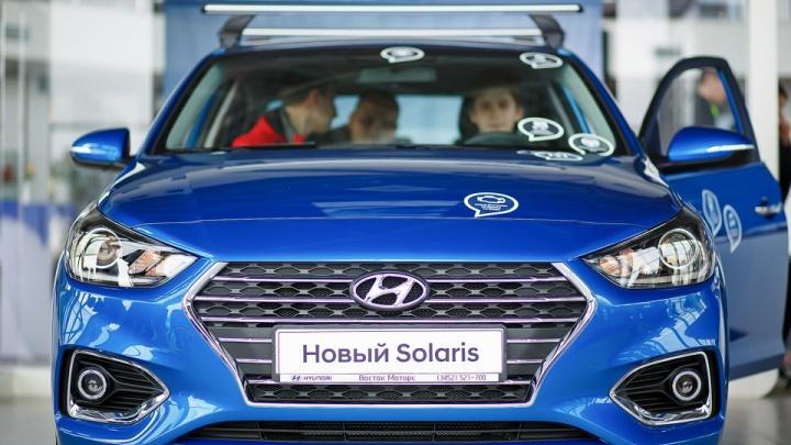 «Восток Моторс» приготовил триспециальных предложения на автомобили Hyundai Solaris