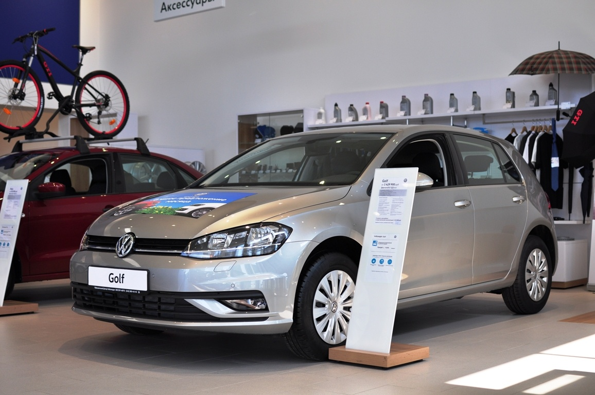 Volkswagen Golf в «Регинас-Бессер»: финальная цена по телефону +7 (343) 312-23-55