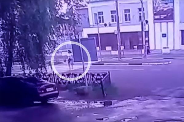 Ольгу сбили на пешеходном переходе