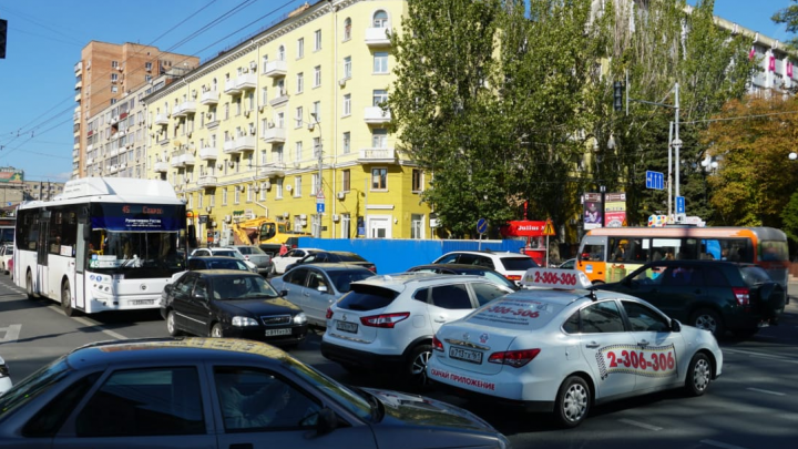 Центр Ростова остался без света
