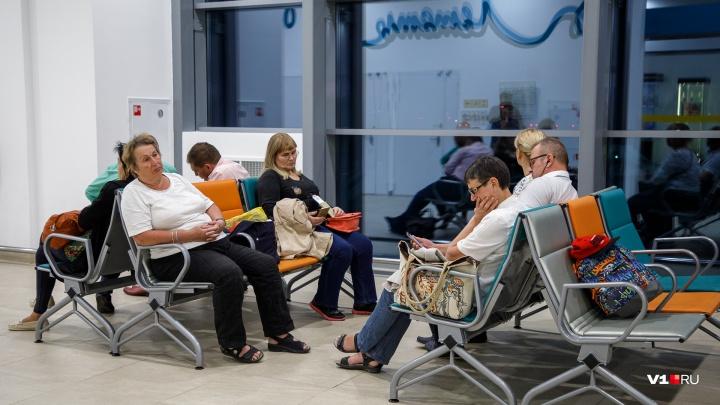 В аэропорту Волгограда начались задержки рейсов