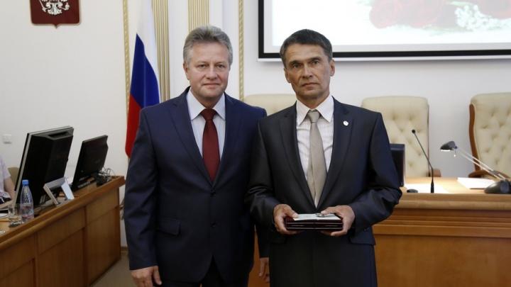 Курганский тренер Сергей Попов стал «Заслуженным работником физической культуры РФ»