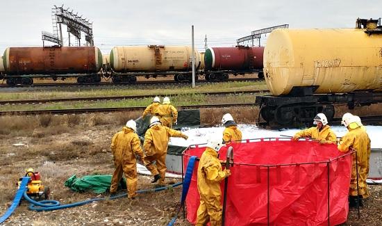 «Огонь мог перекинуться на другие вагоны»: на станции Волгограда потушили придуманный пожар