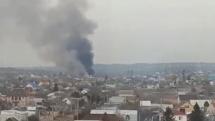Старт пожароопасного сезона: по всему Волгограду горит камыш