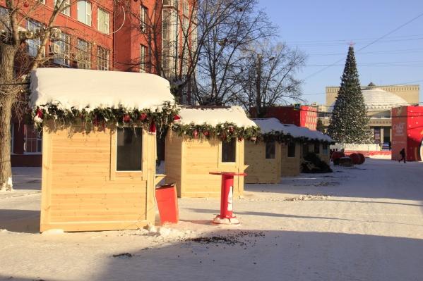 Участок Ленина от Красного проспекта до улицы Советская откроют для машин с 29 января