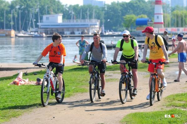 Многие участники возмутились, что в этом году Майская велопрогулка слишком лёгкая
