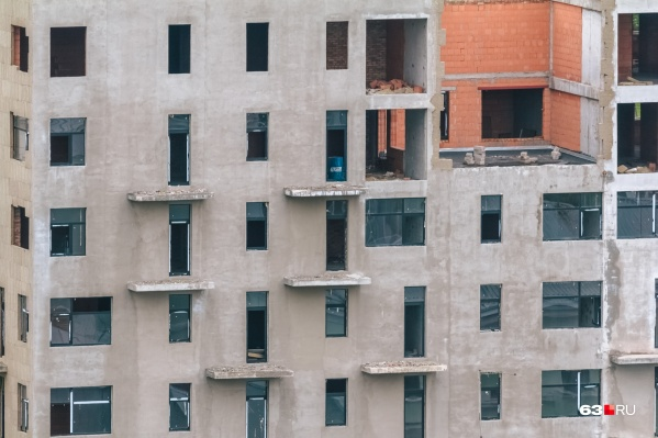 В Самарской области уже нецелесообразнымм признали строительство четырех домов