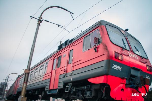 Сейчас электрички от станции «Красный Аксай» ходят дважды в день