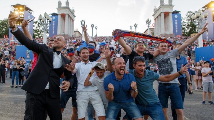 Волгоград встретит третий день фестиваля болельщиков четырьмя матчами и электронной музыкой