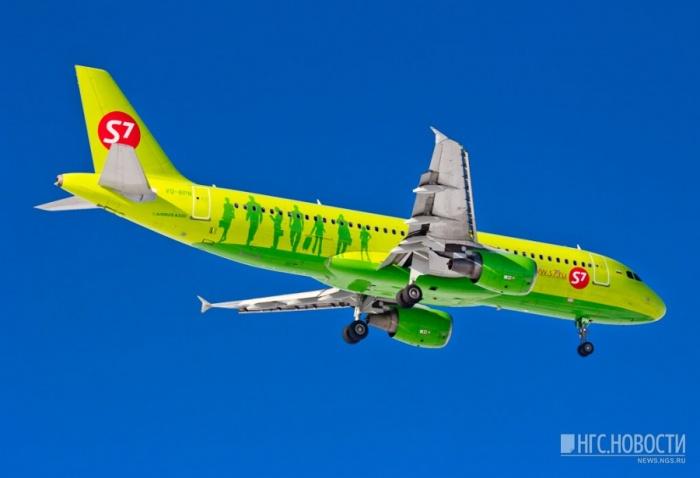 S7 Airlines задержала около тысячи рейсов за 9 месяцев